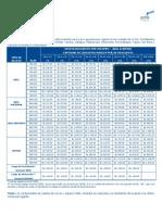 Detalle Descuento Por Cantidad de Circuitos Adsl2010