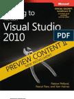 DRAFT Preview II - Moving to Microsoft Visual Studio 2010 (VS2008)