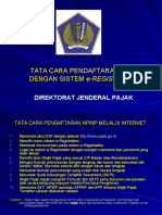 Tata Cara ran NPWP Melalui Internet