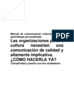 Manual de comunicación cultural