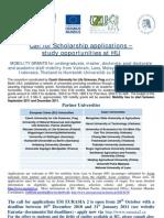 Announcement HU Study Offers Within EM EURASIA2 2010Nov