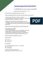 Nat Router Digandeng Dengan Squid Web Proxy
