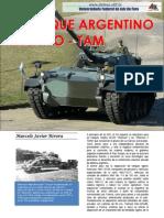 Vehiculo Blindado Medio TAM de fabricacion Argentina