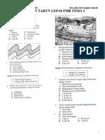 Bank Soalan Geografi  Tema 1 Bentuk Muka Bumi  PMR