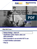 Automating Purchasing Approval Release Strategy Implementation