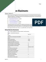 vSphere4.1 Configuration Maximum