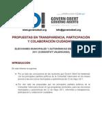 Informe Reuniones Partidos Politicos 2011