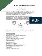 CCNP TSHOOT Loss of OSPF Neighbor Adjacency