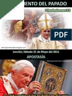 Lección 21 - Surgimiento del Papado