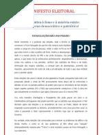 Manifesto Eleitoral Pctp.mrpp 2011