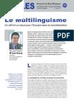 Le Multilinguisme - Note d'analyse géopolitique n°21