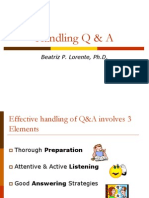 Q&A on Posters Lecture