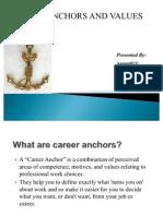 Career Anchors and Values Final Anu