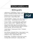 Bibliografia e Webgrafia Lareteingabbia.net