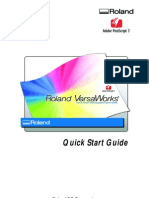 Roland VersaWorks Quickstar Guide