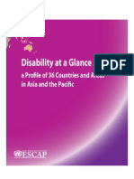 Disability at a Glance 2010