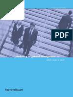 CMO Summit - Marketing or General Management 2005