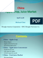 China Apple Crop Report April 2008