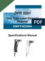 Opr3201 Manual