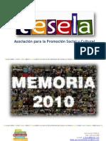 MEMORIA 2010 Asociación TESELA