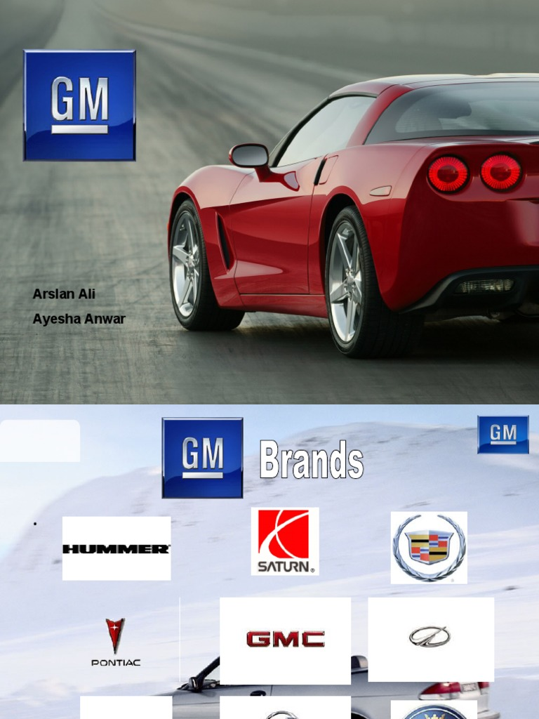 essay on general motors One of the oldest automobile manufacturers, general motors is also the world's second-largest, and employees over 266,000 workers, with global headquartersread.
