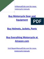 Yamaha YZFR1 1998 Service Manual Www.repairManualClub