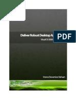 Deliver Robust Desktop Application