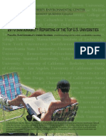 Sustainability Reporting Top Universities 2010