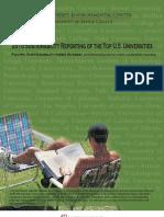 Sustainability Reporting Top Universities 2010