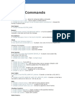 Router Commands Ccna
