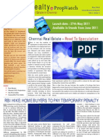 Chennai Realty Newsletter May 09 05 11