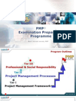 PMP Lead-Integration Management