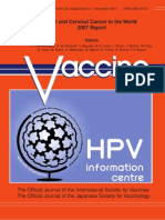 World Health ion Report on Cervical Cancer and HPV
