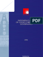 Indonesia Code of GCG 2006