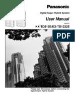 Panasonic KXTD1232 V5 UM