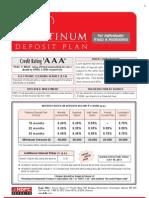 Platinum Deposits Form