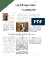 Seventh Grade Newspaper-May2011