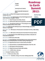 Roadmap to Earth Summit Update 0211