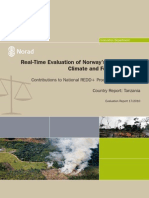 Real-Time Evaluation of NICFI - Tanzania Country Report