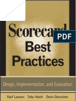 Scorecard Best Practicies
