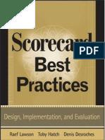 Scorecard Best Practicies
