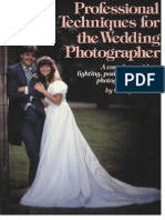 Professional Techniques for the Wedding Photograher