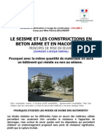 4. Le Seisme Et Les Constructions en Beton Arme Et en Maconnerie