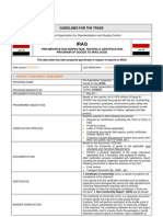Trade Guide Lines for Iraq