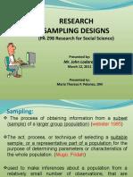 samplingdesignjohnladaran-110315075418-phpapp01