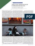 Autonomías Para Democratizar Los DDHH (Hernán Cabrera Maráz)