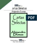Alejandro Dumas - Cartas Selectas