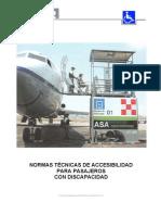 A. 1.- NORMAS TÉCNICAS DE ACCESIBILIDAD PARA PASAJEROS CON D