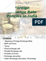Foreign Exchange Rate and Policies