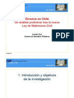Divorcio en Chile